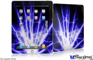 iPad Skin - Lightning Blue