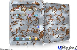 iPad Skin - Rusted Metal