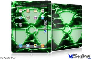 iPad Skin - Radioactive Green