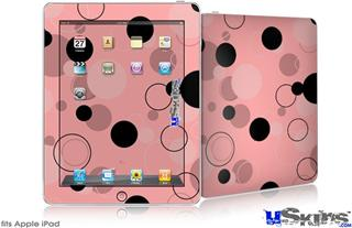 iPad Skin - Lots of Dots Pink on Pink