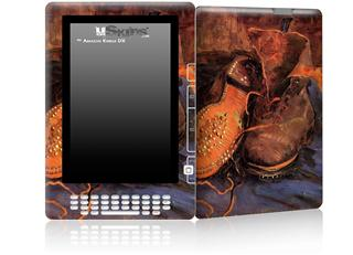 Vincent Van Gogh A Pair of Shoes - Decal Style Skin for Amazon Kindle DX