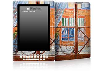 Vincent Van Gogh A Pork-Butchers Shop Seen from a Window - Decal Style Skin for Amazon Kindle DX