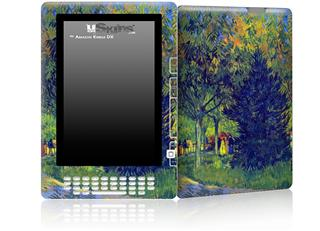 Vincent Van Gogh Allee in the Park - Decal Style Skin for Amazon Kindle DX