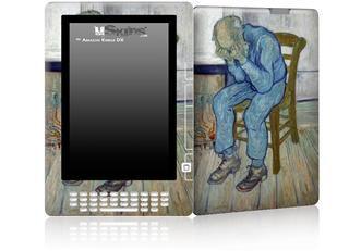 Vincent Van Gogh At Eternitys Gate - Decal Style Skin for Amazon Kindle DX