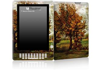 Vincent Van Gogh Autumn Landscape With Four Trees - Decal Style Skin for Amazon Kindle DX