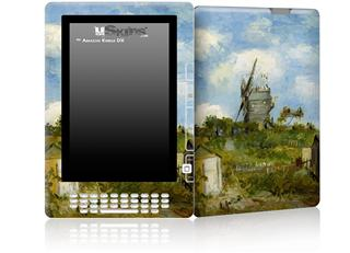 Vincent Van Gogh Blut Fin Windmill - Decal Style Skin for Amazon Kindle DX