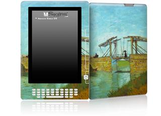 Vincent Van Gogh Bridge At Arles - Decal Style Skin for Amazon Kindle DX