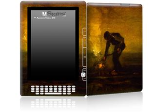 Vincent Van Gogh Burning Weeds - Decal Style Skin for Amazon Kindle DX