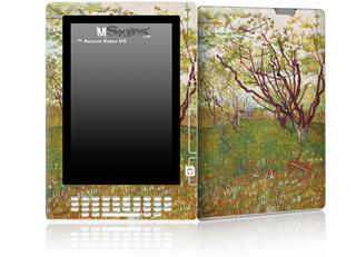 Vincent Van Gogh Cherry Tree - Decal Style Skin for Amazon Kindle DX