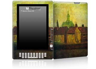 Vincent Van Gogh Cluster - Decal Style Skin for Amazon Kindle DX