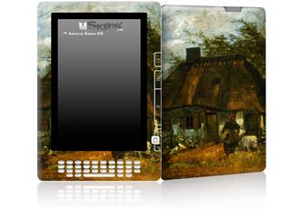 Vincent Van Gogh Cottage - Decal Style Skin for Amazon Kindle DX