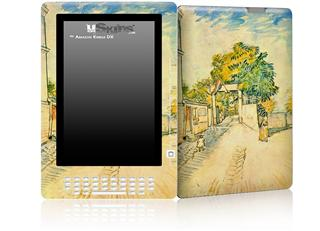Vincent Van Gogh Entrance To The Moulin De La Galette - Decal Style Skin for Amazon Kindle DX