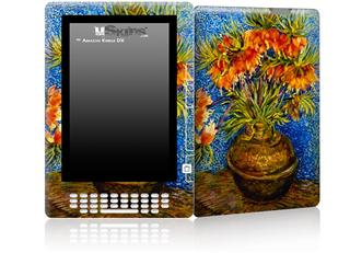 Vincent Van Gogh Fritillaries - Decal Style Skin for Amazon Kindle DX