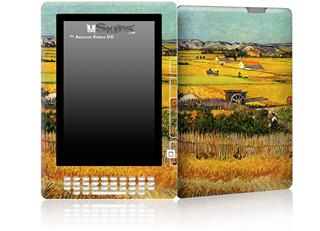 Vincent Van Gogh Harvest At La Crau With Montmajour In The Background - Decal Style Skin for Amazon Kindle DX