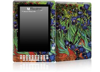 Vincent Van Gogh Irises - Decal Style Skin for Amazon Kindle DX