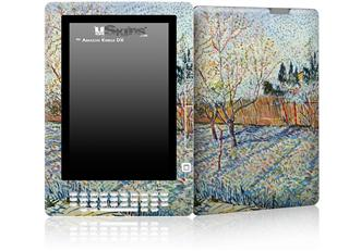 Vincent Van Gogh Orchard With Cypress - Decal Style Skin for Amazon Kindle DX