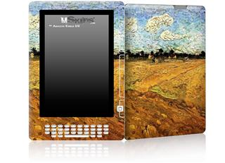 Vincent Van Gogh Ploughed Field - Decal Style Skin for Amazon Kindle DX