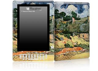 Vincent Van Gogh Shelters In Cordeville - Decal Style Skin for Amazon Kindle DX