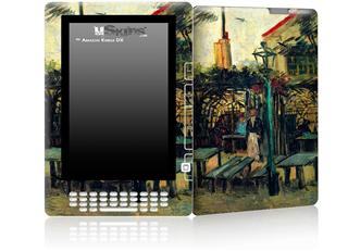 Vincent Van Gogh Terrace Of A Cafe - Decal Style Skin for Amazon Kindle DX
