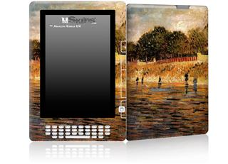 Vincent Van Gogh The Banks Of The Seine - Decal Style Skin for Amazon Kindle DX
