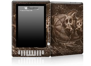 The Temple - Decal Style Skin for Amazon Kindle DX