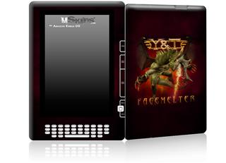 Y&T Facemelter - Decal Style Skin for Amazon Kindle DX