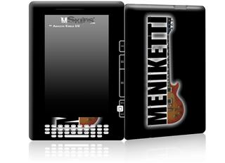 Meniketti - Decal Style Skin for Amazon Kindle DX