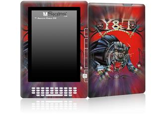 Y&T Black Tiger - Decal Style Skin for Amazon Kindle DX