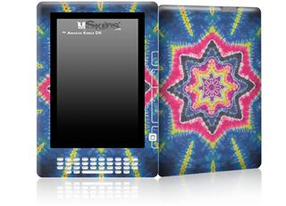 Tie Dye Star 101 - Decal Style Skin for Amazon Kindle DX