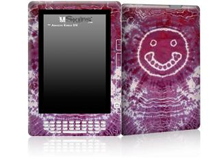 Tie Dye Happy 100 - Decal Style Skin for Amazon Kindle DX