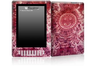 Tie Dye Happy 102 - Decal Style Skin for Amazon Kindle DX