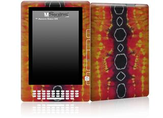 Tie Dye Spine 100 - Decal Style Skin for Amazon Kindle DX