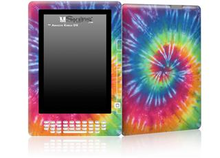 Tie Dye Swirl 104 - Decal Style Skin for Amazon Kindle DX