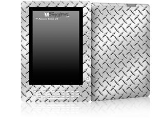 Diamond Plate Metal - Decal Style Skin for Amazon Kindle DX