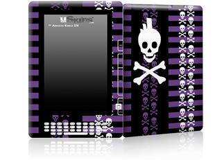 Skulls and Stripes 6 - Decal Style Skin for Amazon Kindle DX