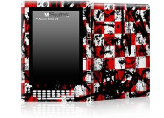 Checker Graffiti - Decal Style Skin for Amazon Kindle DX