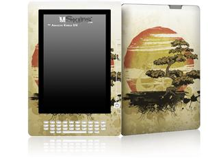 Bonsai Sunset - Decal Style Skin for Amazon Kindle DX