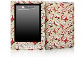Lots of Santas - Decal Style Skin for Amazon Kindle DX