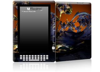 Alien Tech - Decal Style Skin for Amazon Kindle DX