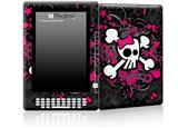 Girly Skull Bones - Decal Style Skin for Amazon Kindle DX