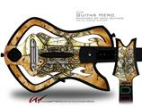 Airship Pirate Decal Style Skin - fits Warriors Of Rock Guitar Hero Guitar (GUITAR NOT INCLUDED)