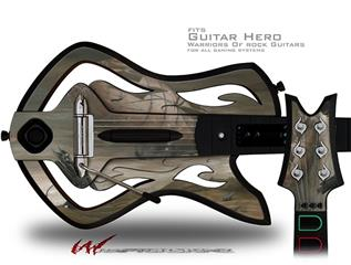 Desert Shadows Decal Style Skin - fits Warriors Of Rock Guitar Hero Guitar (GUITAR NOT INCLUDED)