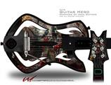 Exterminating Angel Decal Style Skin - fits Warriors Of Rock Guitar Hero Guitar (GUITAR NOT INCLUDED)