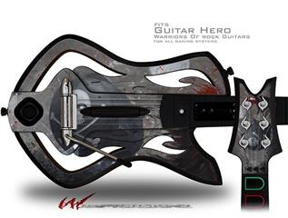 Red Queen Decal Style Skin - fits Warriors Of Rock Guitar Hero Guitar (GUITAR NOT INCLUDED)