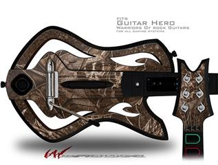 The Temple Decal Style Skin - fits Warriors Of Rock Guitar Hero Guitar (GUITAR NOT INCLUDED)