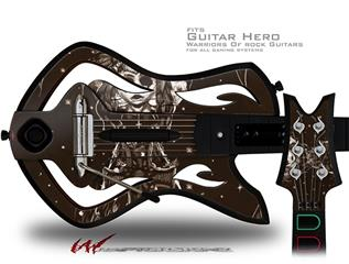 Willow Decal Style Skin - fits Warriors Of Rock Guitar Hero Guitar (GUITAR NOT INCLUDED)