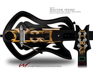 Y&T Decal Style Skin - fits Warriors Of Rock Guitar Hero Guitar (GUITAR NOT INCLUDED)