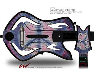 Tie Dye Peace Sign 101 Decal Style Skin - fits Warriors Of Rock Guitar Hero Guitar (GUITAR NOT INCLUDED)
