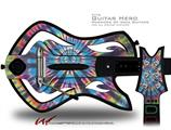 Tie Dye Swirl 101 Decal Style Skin - fits Warriors Of Rock Guitar Hero Guitar (GUITAR NOT INCLUDED)