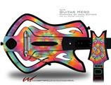 Tie Dye Swirl 102 Decal Style Skin - fits Warriors Of Rock Guitar Hero Guitar (GUITAR NOT INCLUDED)